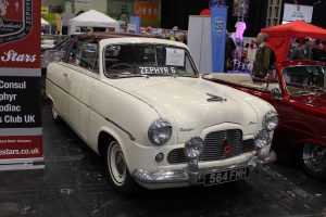 Ford Zephyr Mk1 Six Convertible – 564 FMH