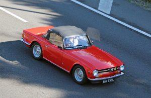 Triumph TR6 – SHV 530 L (Copyright ERF Mania)