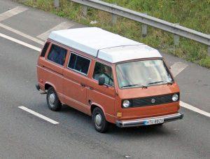 Volkswagen T3-T25 Camper Van – HTU 882 X (Copyright ERF Mania)